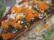 Filets maquereaux grillés petit épeautre chou fleur oeufs truite recette divine Frenchie