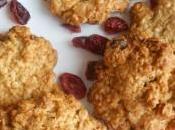 Cookies 'petit-déjeuner' cranberries