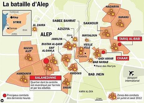 Alep - carte