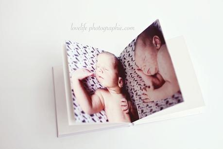 Livre photo naissance lovelife photographie 01 Les livres de votre séance photo