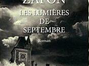 """2012/48 """"Les lumières septembre"""" Carlos Ruiz Zafon"""
