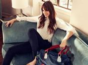 Mode Charlotte Gainsbourg pour Tommy Hilfiger
