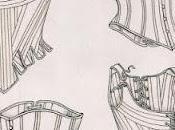 Nouveau corset XVIIIe indienne rose