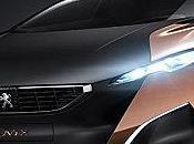 Peugeot Onyx concept supercar révélé