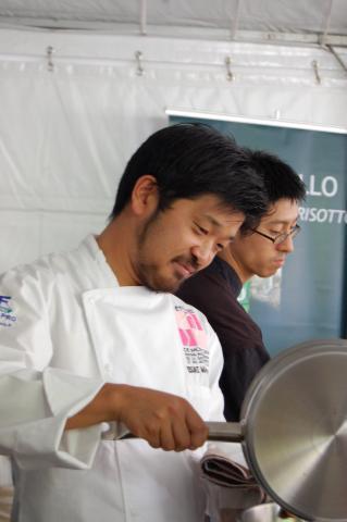 Les étoiles de Mougins 2012, Risotto à la japonaise de Keisuke Matsushima