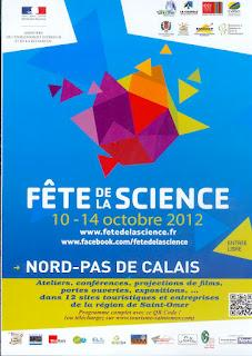 Fête de la science du 10 au 14 octobre 2012