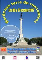 Agenda Bordeaux – Octobre 2012