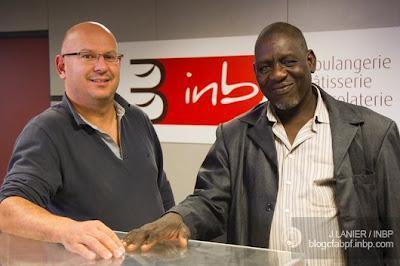 Amadou Seyni en visite à l'INBP !