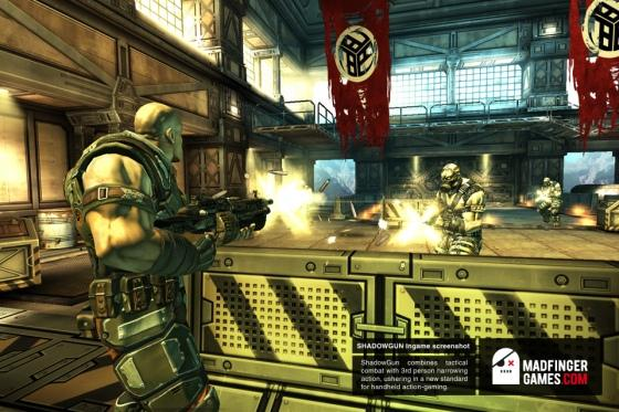 Shadowgun gratuit sur Playbook