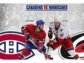 Canadiens Contre Hurricanes octobre 2012 Colisée Pepsi