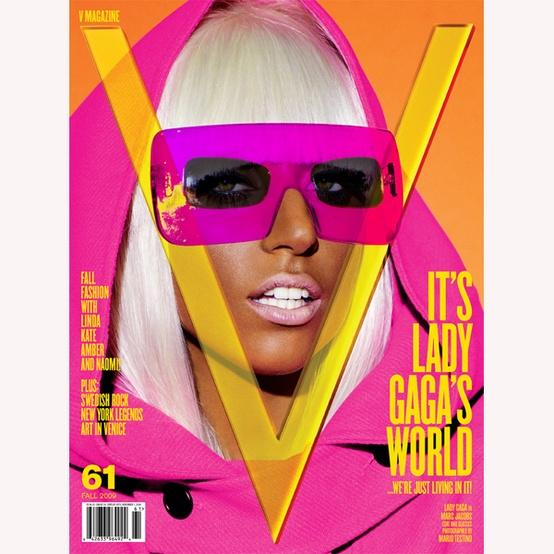 Remeber this neon V cover featuring Lady Gaga? •ƒƒ•