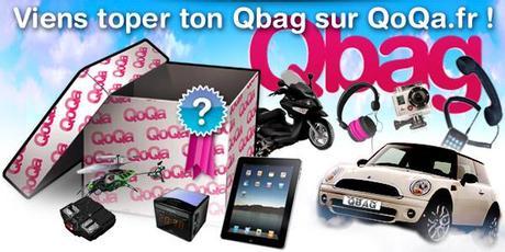 Qoqa : opération Qbag et Galaxy Note 2 à gagner !