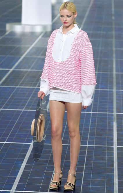 Fashion Week: Chanel 2013, moderne chic , accessoires oversized