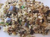 Poêlée d'aubergines quinoa