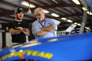 2012talladegatestbrianvickers333 300x200 2013 Sprint Cup car test at Talladega