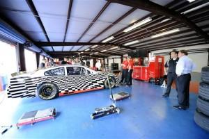 2012talladegatestpembertongarage2 300x200 2013 Sprint Cup car test at Talladega