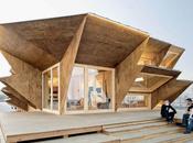 pavillon Endesa cabinet Iaac, Barcelone, Espagne Architecture Solaire
