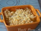Crumble Pomme, Ananas vanille