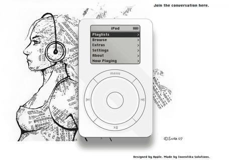 Nostalgie : le 1ier iPod de retour dans votre navigateur