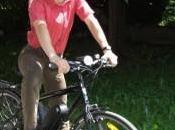 Gilles Boisvert, défenseur vélo, Porshe
