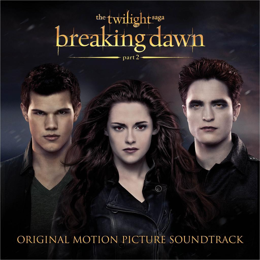 La cover de la soundtrack de Breaking Dawn part 2