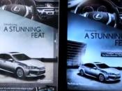 Lorsque l'iPad anime publicité d'un magazine papier