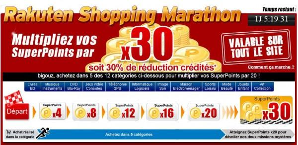 [Bon Plan JDG] Priceminister lance son Shopping Marathon