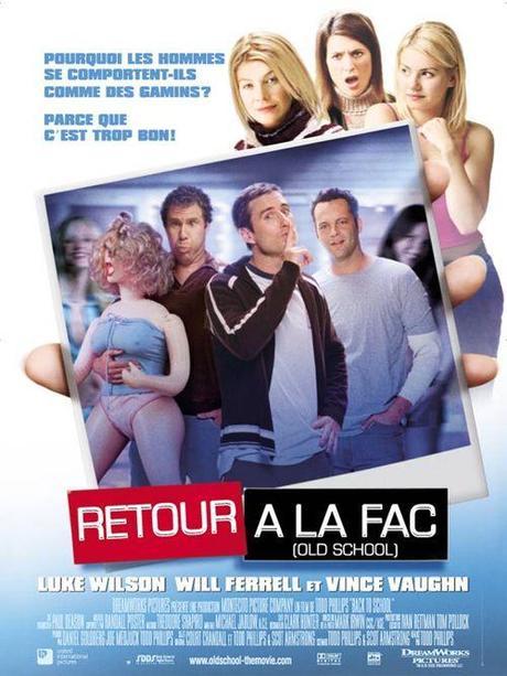 Affiche Française - Back to school (retour à la fac)