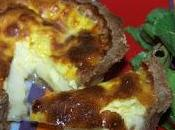 Tartelettes Maroilles Salade fanes