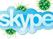 Skype malware propage
