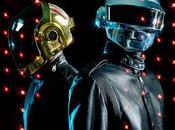 bande très Blues défilé Yves Saint Laurent Daft Punk