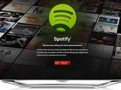Spotify arrive Smart Samsung
