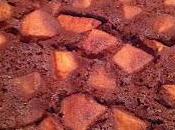 Gâteau pommes chocolaté sans gluten lait