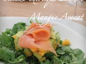 Salade ExOtique SaumOn Mangue AvOcat