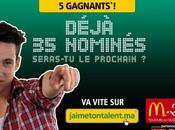 entre gagnants avec jaimetontalent.ma McDonald's Maroc