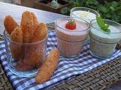 Grands Coraya panés Panko farandole sauces