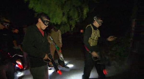 Paintball nocturne