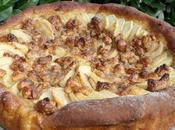 Brioche façon tarte pommes noix cajou caramélisées!