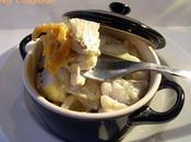 Cocotte poisson carotte crème poireaux
