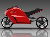 Prototype Audi E-Bike, moto futur