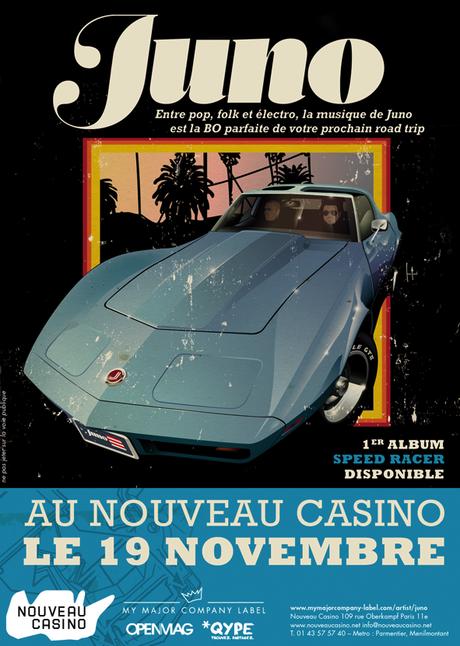 Qype vous offre des places pour le concert de Juno !