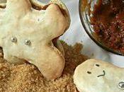 Gingerbread mancaronmen Petits bonhommes pain d'épices macarons fourrés pâte tartiner spéculoos maison.