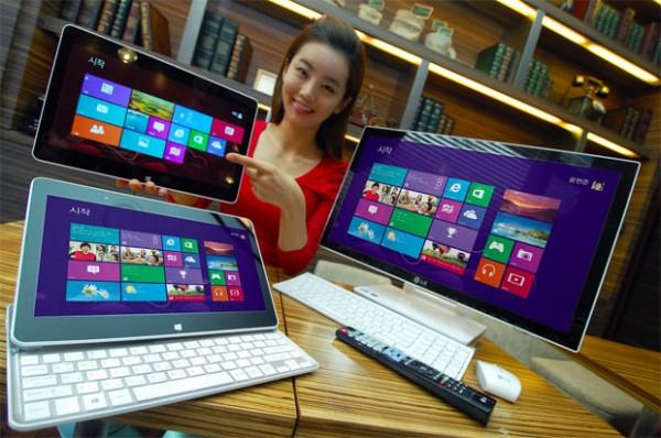 LG mise sur Windows 8