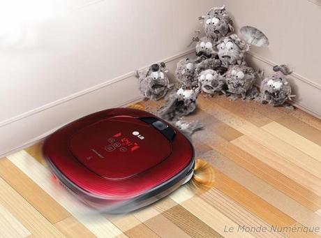 LG lance le robot aspirateur Hom-Bot Square pour aller dans les coins