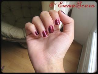 Vernis Merlot de Sinful Colors