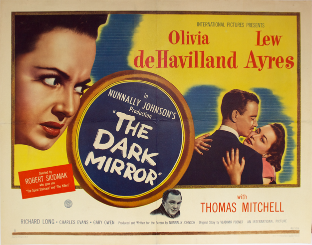 Double Énigme - The Dark Mirror, Robert Siodmak (1946)