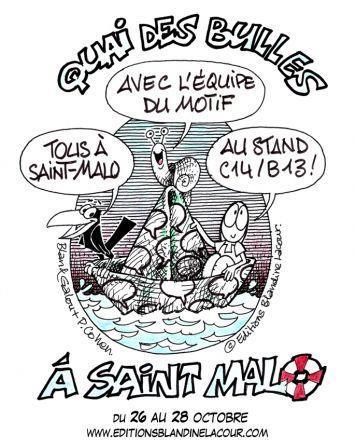 Quai des Bulles à Saint-Malo