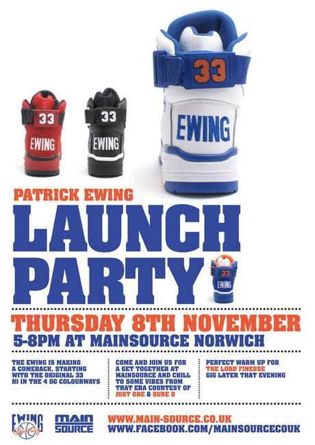 Ewing 33 Hi Europe Release Date