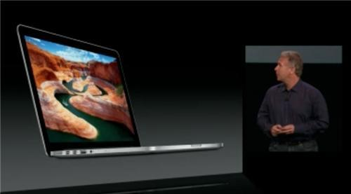 Apple dévoile le MacBook Pro 13″ Retina