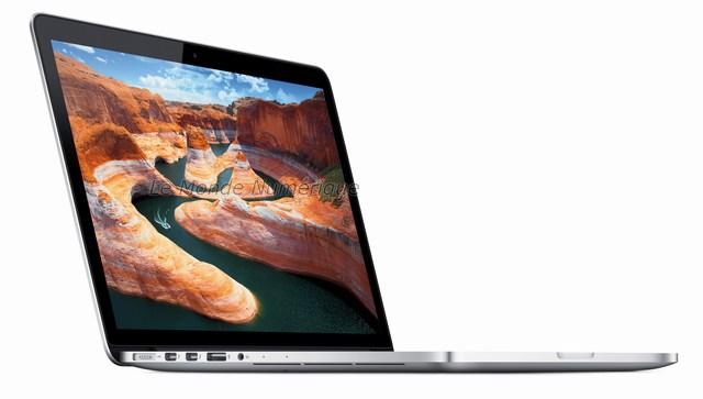 Apple lance le MacBook Pro Retina 13 pouces